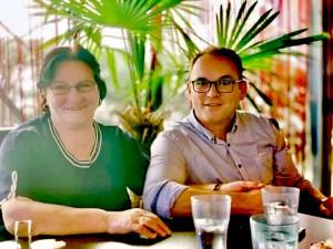 Agron Gashi dhe Nana e tij