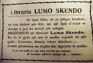 """Publicitet - """"Lumo Skendo"""""""