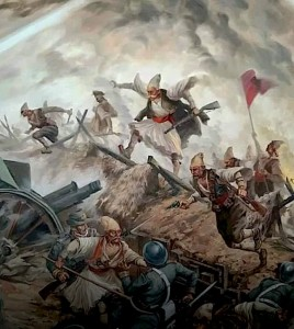 Pikturë - Lufta e Vlorës