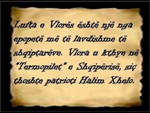 Halim Xhelo për Luftën e Vlorës...