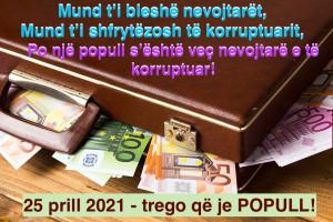 Mendime grafike  - 25 prill 2021