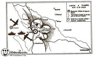 Grafika të Lufta së Vlorës