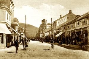 Një nga rrugët kryesore të Tetovës së Vjetër