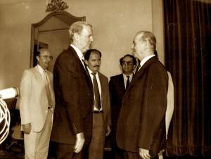James Baker ne takimin e Presidentin Alia