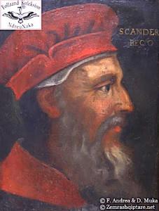 fig.1. Skënderbeu, nga Gentile Bellini