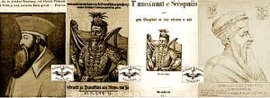 fig.15. Portrete të Skënderbeut referuar nga F. Kenner
