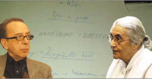 Ismail Kadare & Nexhmije Hoxha
