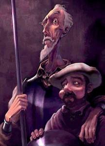 Don Kishoti dhe Sanço Pança