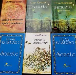 Uran Kostreci - Disa nga veprat e tij