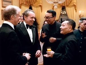 Teng Hsio -ping me Presidentet Amerikanë Nikson dhe Carter