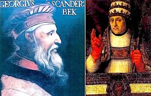 Gjergj Kastriotit Skenderbegu, Zoti i Albania - Papa Kalisti i III