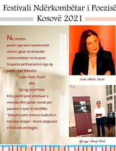 Festivali ndërkombtar i poezisë në Kosovë.