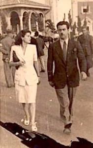 Fiqiri Llagami me zonjen e tij Hedije Sharra - Llagami