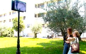 Përkujtimorja për gazetarët e pushkatuar Vangjel Lezho dhe Fadil Kokomani në Tiranë