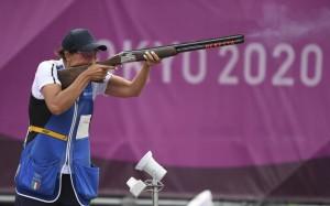 Diana Bacosi - Medalje Argjendi - gara e Skeetit për gra.