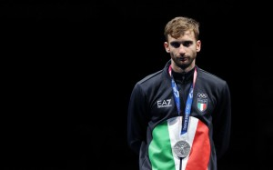 Daniele Garozzo - Medaljen Argjendi - Foreto individuale.