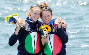 Federica Cesarini & Valentina Rodini - Medalje Ari - Kanotazh në çift për pesha të lehta femra.