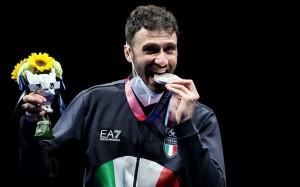 Luigi Samele - Medalje bronxi - në Shpatë,