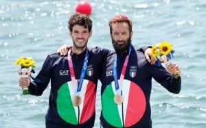 Stefano Oppo & Pietro Willy Ruta Medalje Bronzi - Kanotazh dyshe për meshkuj peshë e lehtë.