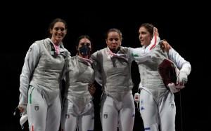 Alice Volpi, Arianna Errigo, Martina Batini & Erica Cipressa Medalje Bronzi - Ekip i femrave me fioretto.