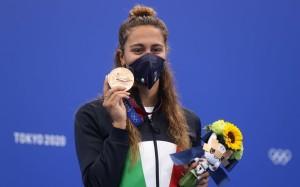 Simona Quadarella - Medalje Bronzi - Not, 800 stil i lirë.