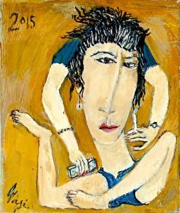 Pikturë e Lekë Tasit