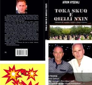 "Afrim Hysenaj, autor i librit ""toka skuq, e qielli nxin..."