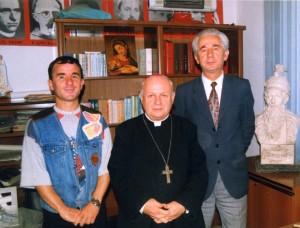 Dom Zef Simoni, Kolec Çefa dhe Klajd Kapinova