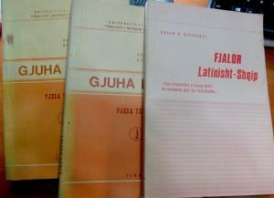 Tekste shkollore universitare te latinishtes