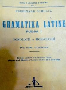 Gramatika Latine -1938