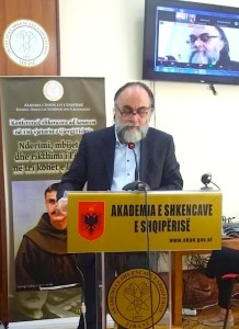 Prof. Kristaq Jorgo gjate Konferences
