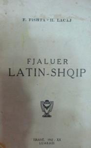 Filip Fishta - Henrik Lacaj - Fjaluer Latin