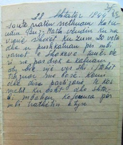Një shënim nga Masakra e Buzmadhes