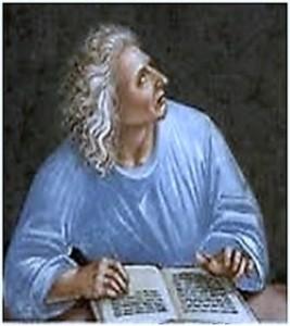 Portreti i poetit ilir Publius Papinus Statius (Vepër e piktorit Luka Signorelli - Kortona 1445 - 1523)