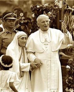 Dy shenjtorë të Shekullit të XX - Madre Tereza & Gjon Pali i II